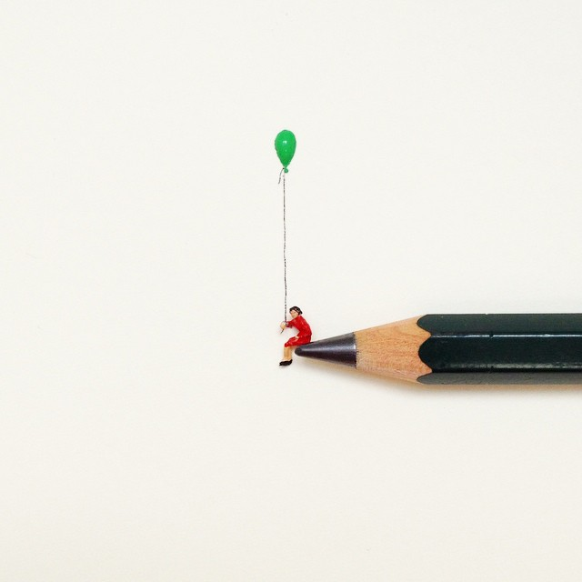 Micro Sculptures  Illustrations and More  Javier Calleja 9