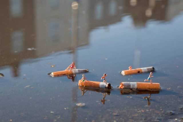 Slinkachu little people 10