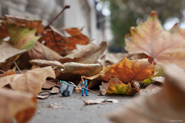 Slinkachu little people 6