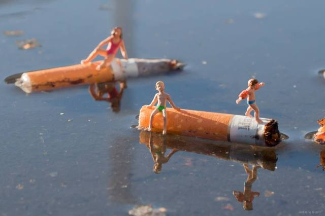 Slinkachu little people 9