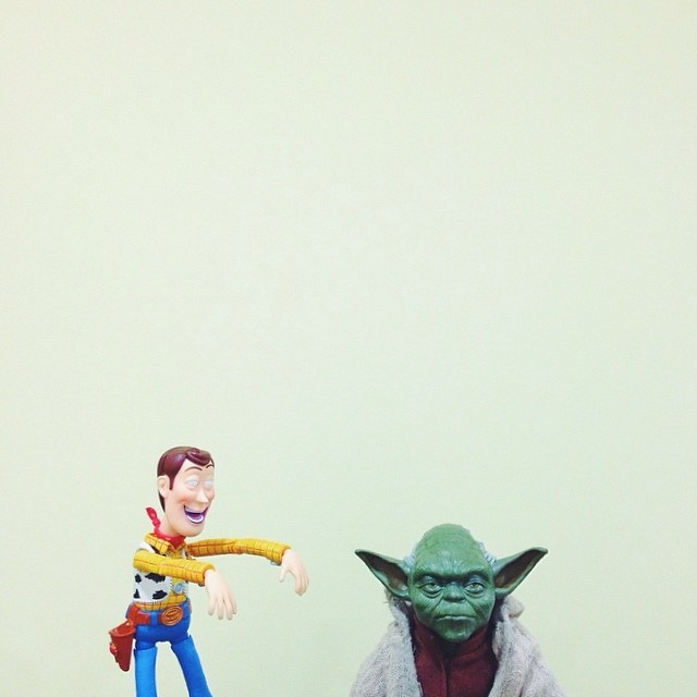 Real Life Toy Stories by Daniel Cerejo