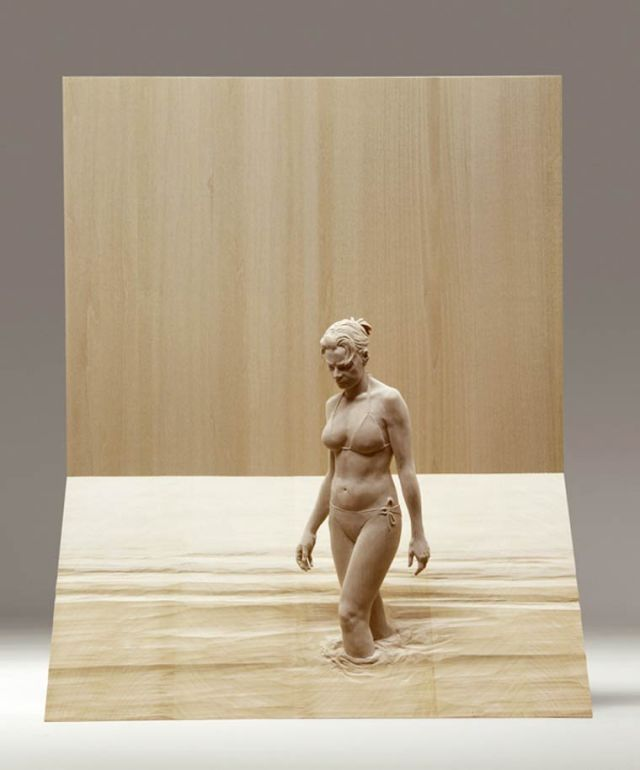 realistic wooden sculptures Peter Demetz 13