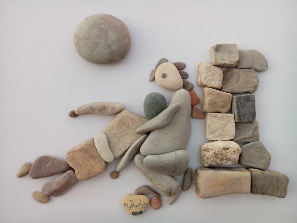 nizar ali bahr poetic ston sculptures 10