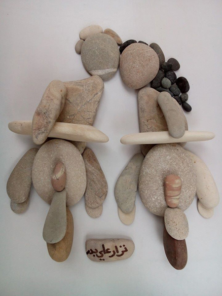 nizar ali bahr poetic ston sculptures 13
