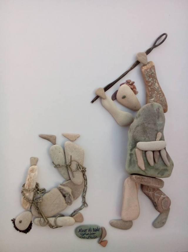 nizar ali bahr poetic ston sculptures 16