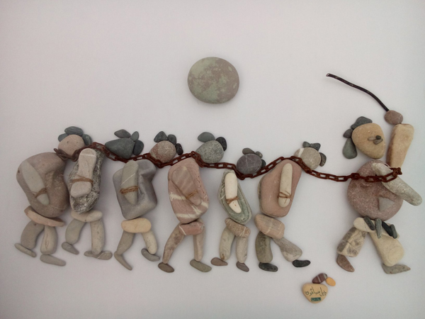 nizar ali bahr poetic ston sculptures 3