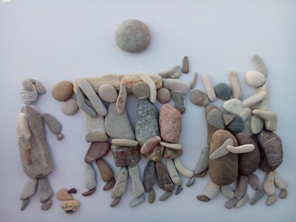 nizar ali bahr poetic ston sculptures 7