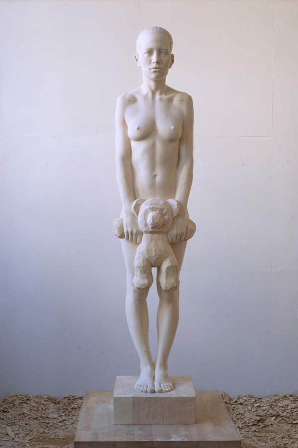 Mario Dilitz wooden sculptures 3