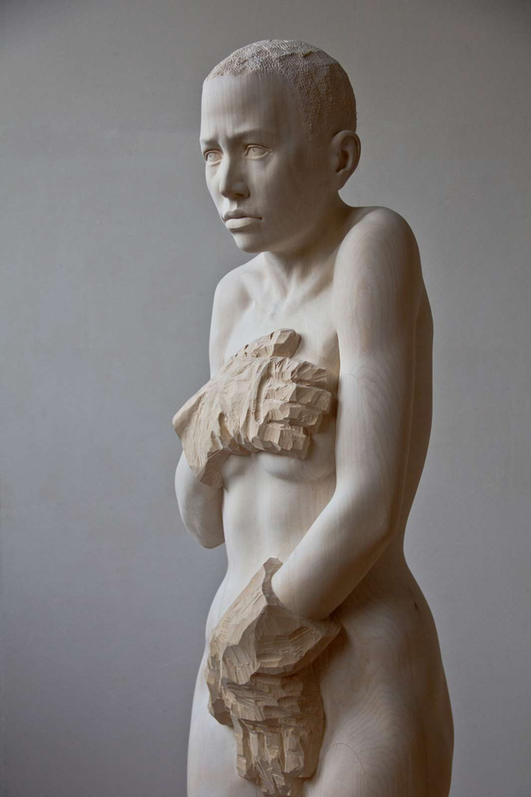 Mario Dilitz wooden sculptures 4