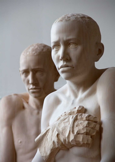 Mario Dilitz wooden sculptures 7